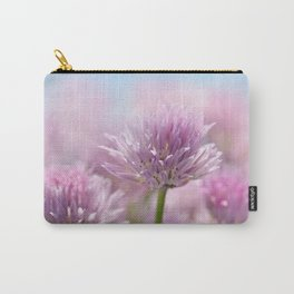 Allium pink macro 303 Carry-All Pouch