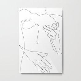 Sensual Erotic Metal Print