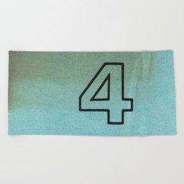 Ilium Public Library Card No. 4 Beach Towel