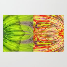 Nuclear Cell Spindle Pattern Rug