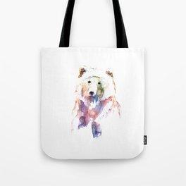 Bear / Abstract animal portrait. Tote Bag