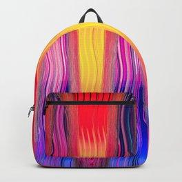 Hot Color Waves Backpack