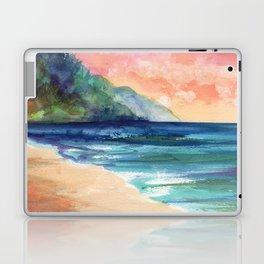 Ke'e Beach Laptop & iPad Skin