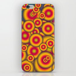 Jelly donuts invasion iPhone Skin