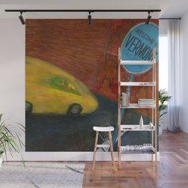 The Fourth Time, I'll Drive Wall Mural