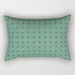 Mid Century Modern Diamonds #6 Rectangular Pillow