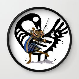 Sankofa Wall Clock