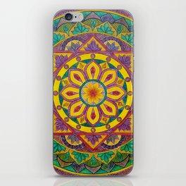 Secret Garden mandala iPhone Skin