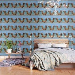 Beach camels Wallpaper
