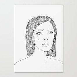 Woman 2 Canvas Print
