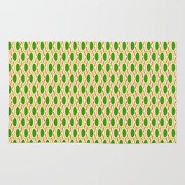 Green Waves Rug