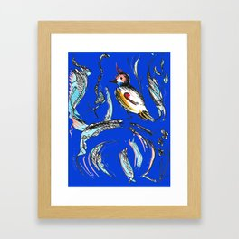 Night Bird Framed Art Print