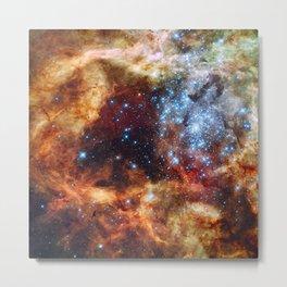 Grand star-forming region R136 in Tarantula Nebula  (NASA/ESA/Hubble) Metal Print