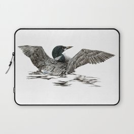 Morning Stretch - Common Loon Laptop Sleeve