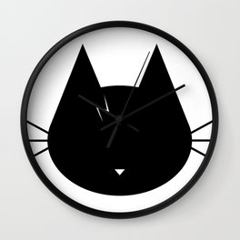 Harry Meowtter Wall Clock