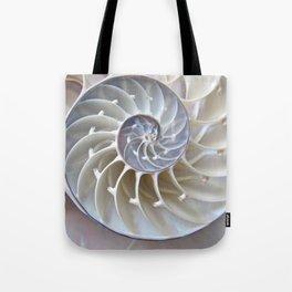 Nautilus Shell Tote Bag