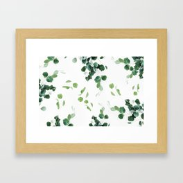 Botanical Celebration #society6 #decor #buyart Framed Art Print
