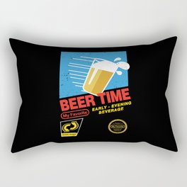 Beer Time Rectangular Pillow