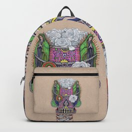 Our Lady of Guadalupe Skull Mask Backpack