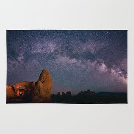 Arches National Park Panorama Rug