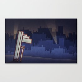 Big City Canvas Print
