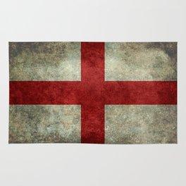 Flag of England (St. George's Cross) Vintage retro style Rug