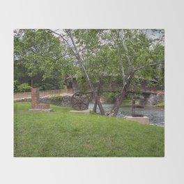 Lovework at the Humpback Bridge Throw Blanket
