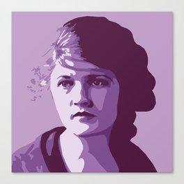 Zelda Fitzgerald Canvas Print