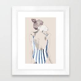 Daughter Framed Art Print