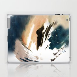 Twilight Wandering - a watercolor and ink abstract  Laptop & iPad Skin