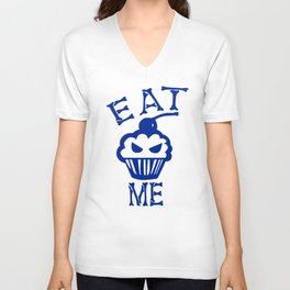 Eat Me (Blue Version) Unisex V-Neck