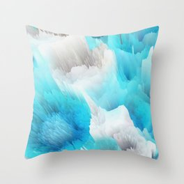 Cold World Throw Pillow