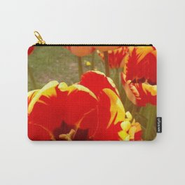 Tulip Gardens Carry-All Pouch