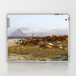 "Abandoned Old Port - Anchors - Sicily - ""VACANCY"" zine Laptop & iPad Skin"