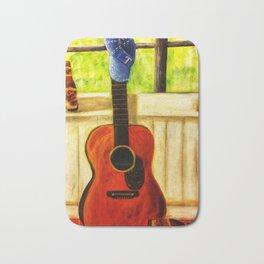 Tex's Guitar Bath Mat