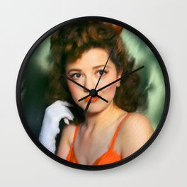 Ann Rutherford Wall Clock
