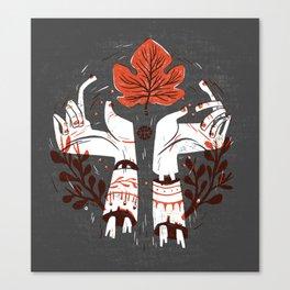Symbol Hands Canvas Print