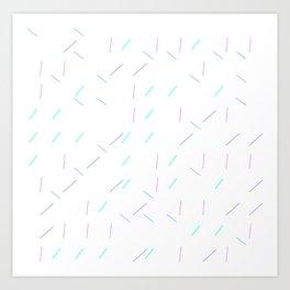Sprinkle_Generative01 Art Print
