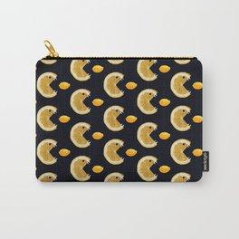 Funny Lemon Eats Lemon Pattern Carry-All Pouch
