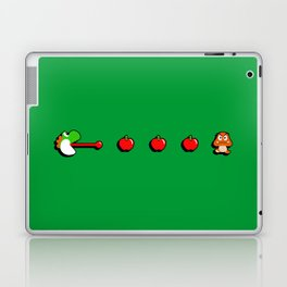Pac-Yoshi's Healthy Appetite Laptop & iPad Skin