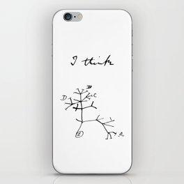 Darwin - Tree of Life - I Think iPhone Skin