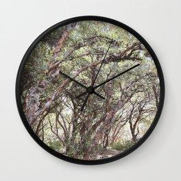 Trees at Sacsayhuaman Wall Clock