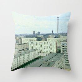 East Berlin '69 Throw Pillow