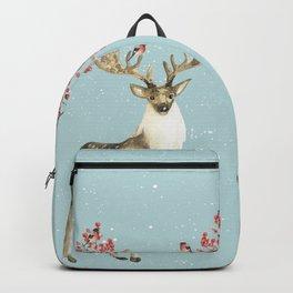 Deers With Birds #society6 #buyart Backpack