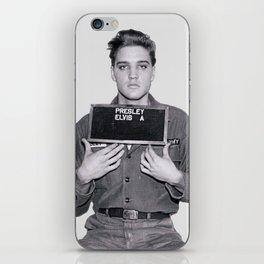 Elvis Presley Mugshot iPhone Skin