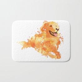 Golden Retriever Bath Mat