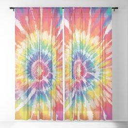 Tie Dye Sheer Curtain