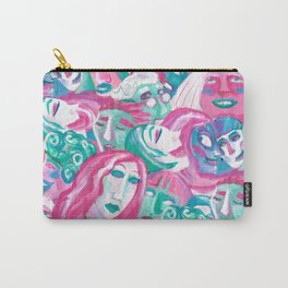 Bright crowd Carry-All Pouch