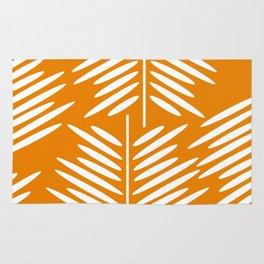 Leaves- minimal Rug