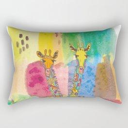 Jirafas Rectangular Pillow